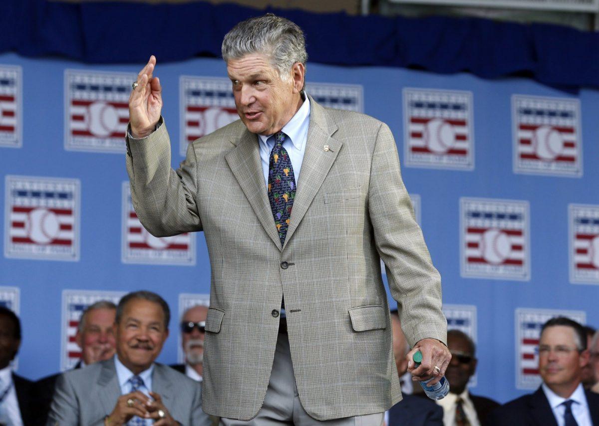Baseball hall of famer Tom Seaver