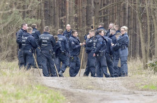 Berlin Police Searching