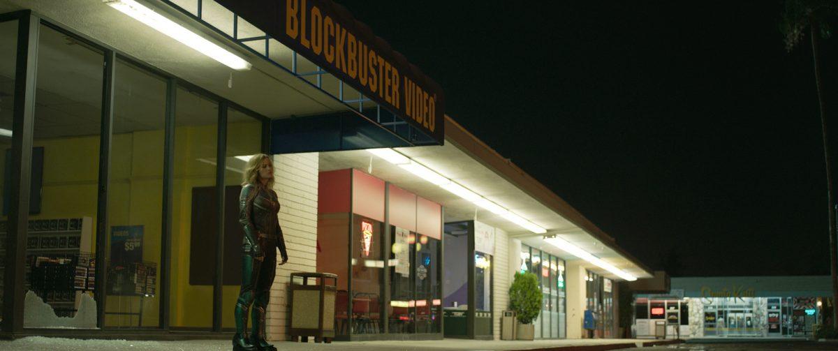 Blockbuster Video store