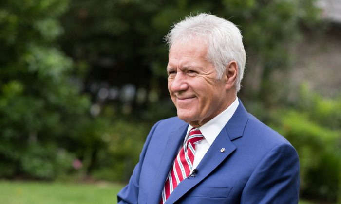 Alex Trebek in a file photograph. (Emma McIntyre/Getty Images)