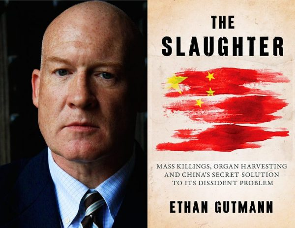 "Ethan Gutmann and his book, ""The Slaughter."""