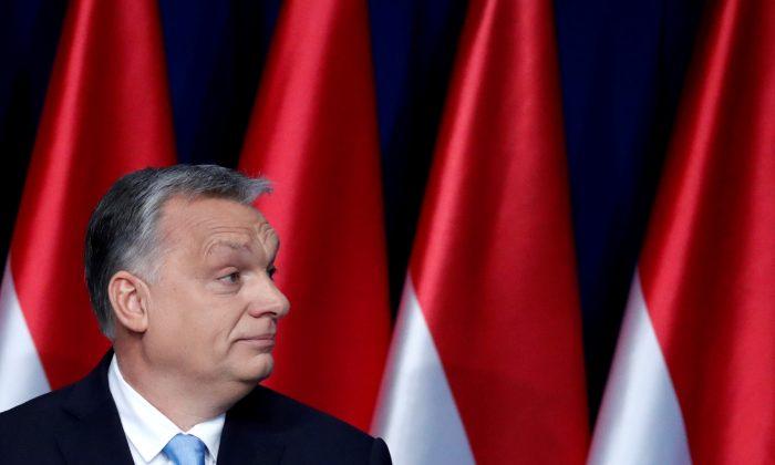Hungarian Prime Minister Viktor Orban in Budapest on Feb. 10, 2019. (Bernadett Szabo/Reuters)