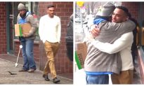 Homeless Man Returns Dropped Wallet, and Uses Reward Money for Greater Good