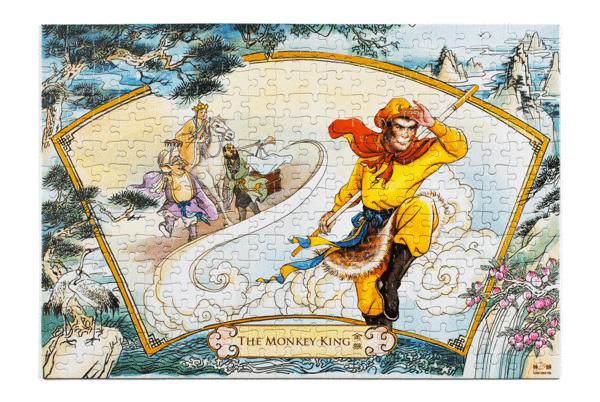 Shen Yun puzzle Monkey King.