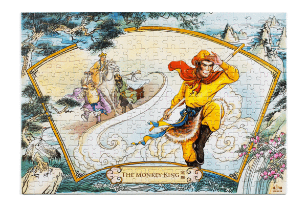 An image of the Monkey King and his companions from The Journey to The West. (courtesy of Shen Yun )