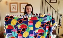 Teen With Lupus Donates Blankets to Those in Need