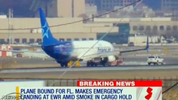 Plane made emergency landing