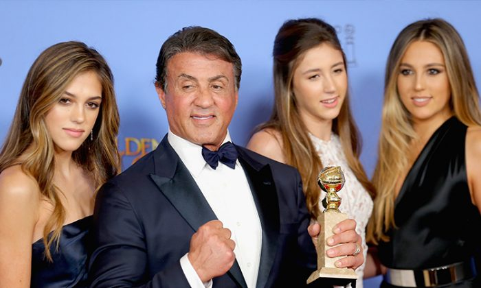 Sly Stallone Has 3 Daughters and They're All Grown Up and