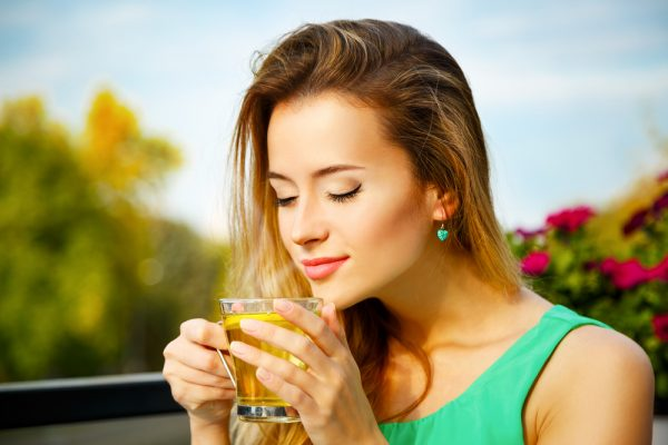 Green tea reduces anxiety