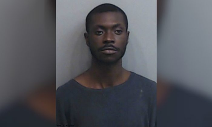 Kevin White was arrested after allegedly breaking into a house in Atlanta, Georgia on March 8, 2019. (Atlanta Police Department)