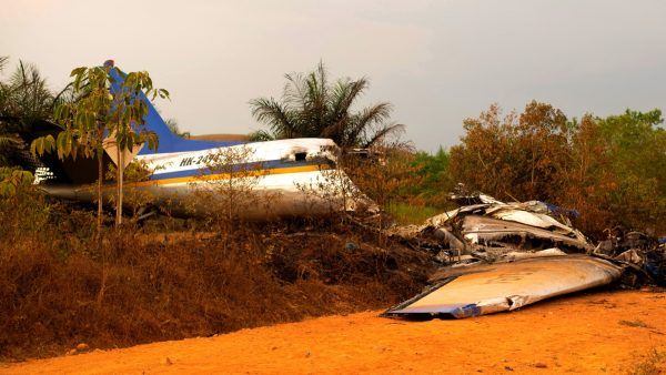 Colombia airplane crash 3
