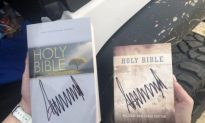 Trump Signed Bibles In Alabama And People Can't Handle It