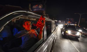 Venezuelans Take to the Streets Again as Country Endures Nationwide Blackouts