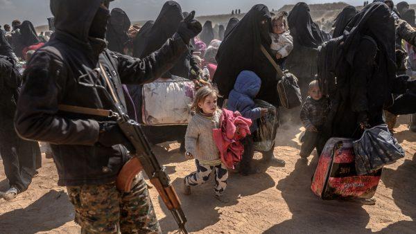 Baghouz enclave-fighting on in Syria's last enclave