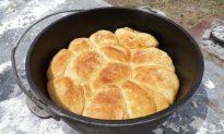 Chuck Wagon Sourdough Biscuits