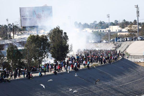 border security migrant caravan