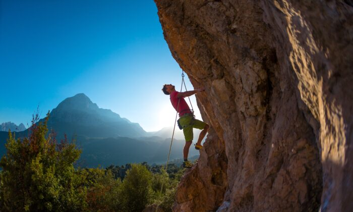 Challenge is the resistance that makes us stronger, forces us to grow.(zhukovvvlad/Shutterstock)