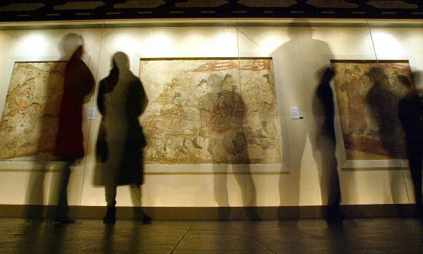 Tang frescoes
