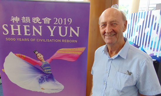 Captain Recommends Shen Yun at Gold Coast Home of the Arts