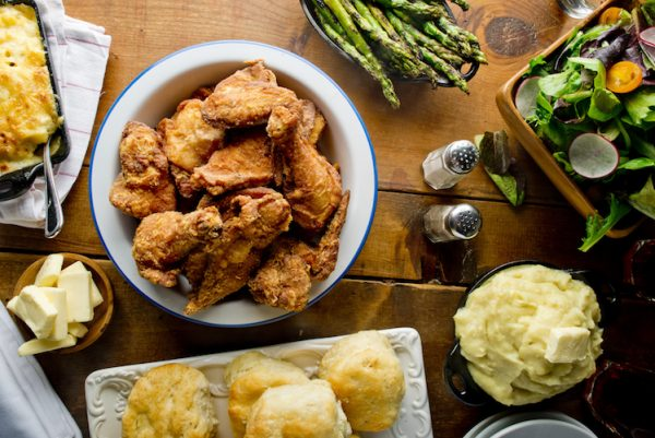 Country style, Southern Fried Chicken