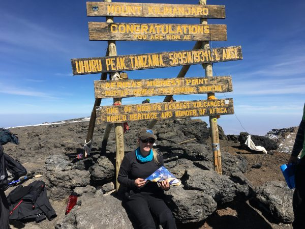 Ennis on the summit