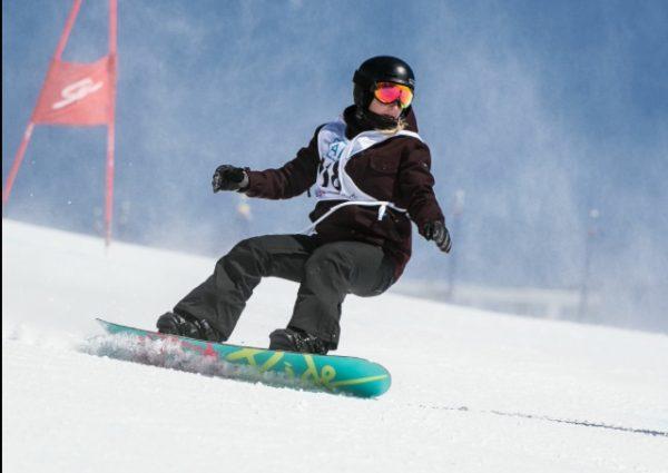 Ennis snowboarding