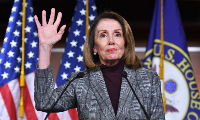 House Speaker Nancy Pelosi (D-Calif.) in Washington on Feb. 28, 2019. (Mandel Ngan/AFP/Getty Images)