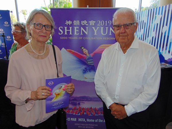 Neumann Contracting Founder John Neumann and wife Gabriele Shen Yun Gold Coast