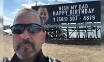 'Wish My Dad Happy Birthday' Billboard Prank Goes Viral and Blows up Dad's Phone