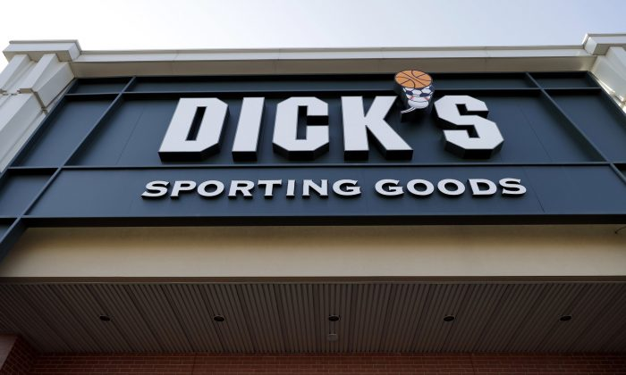 Dick's Sporting Goods store in Arlington Heights, Ill., on Feb. 28, 2018. (Nam Y. Huh/AP Photo)
