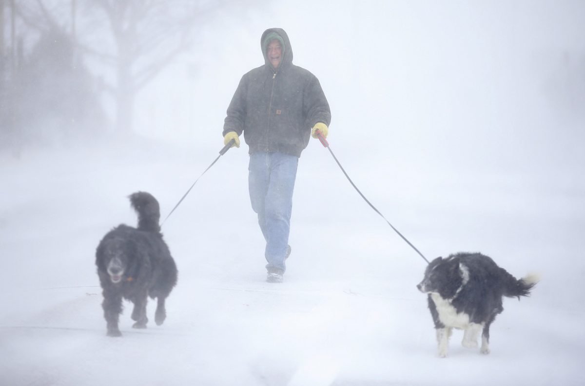 Heavy snow in denver 2