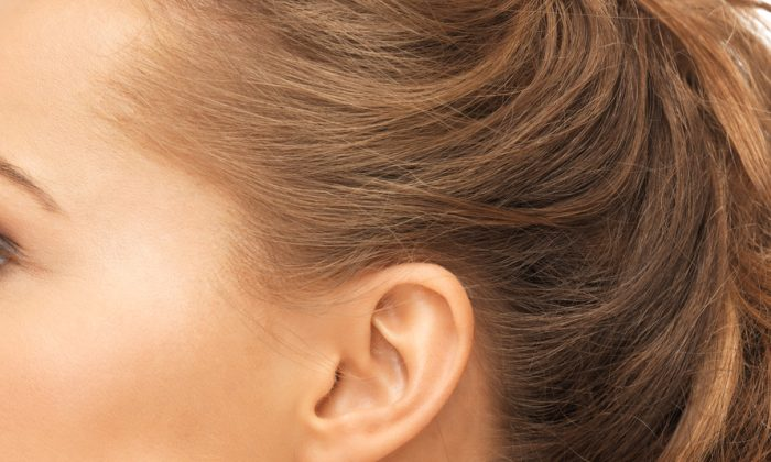 An ear stock photo (Syda Productions/Shutterstock)