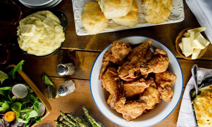Behind the crispiest fried chicken and flakiest biscuits is good old-fashioned lard. (Shutterstock)