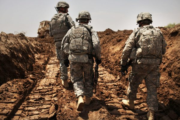 Remaining US Troops In Iraq Patrol Restive Babil Province