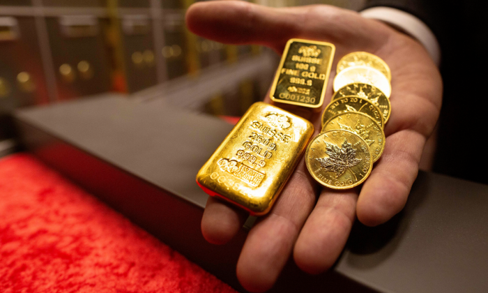 Gold bullion (Paul Faith/AFP/Getty Images)