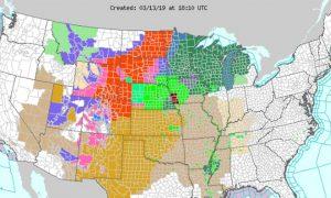 Fierce Late-Winter Storm Slams Midwest, Rockies