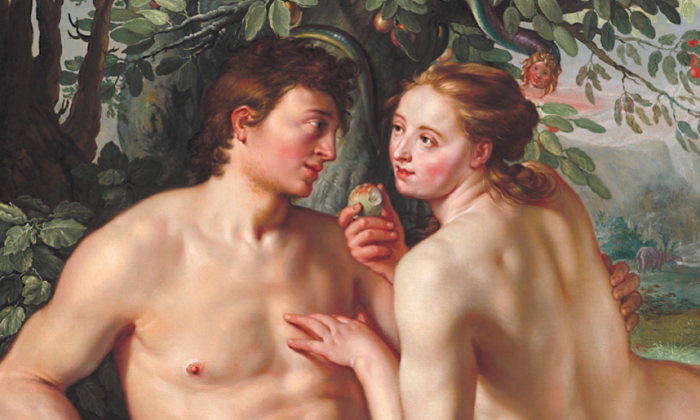 """The Fall of Man,"" 1616, by Hendrick Goltzius. National Gallery of Art. (Everett - Art / Shutterstock)"