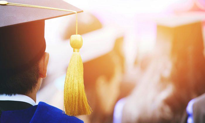 Graduation stock photo. (Illustration/Shutterstock)