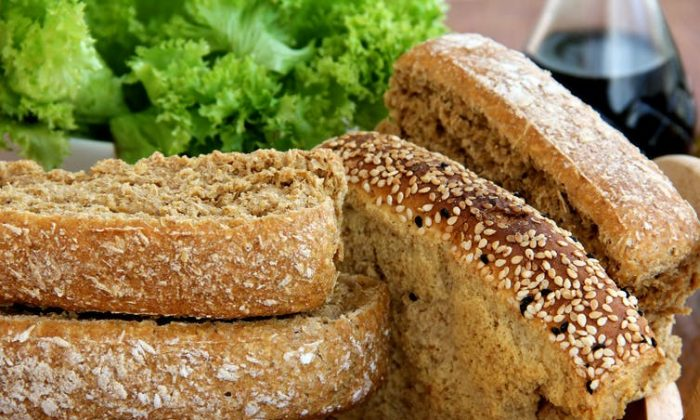 To know the whole grain content of food, look for the Oldways Whole Grains Council stamp. (andreasnikolas/Shutterstock