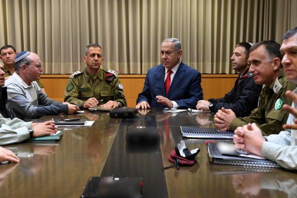 Netanyahu in defense meeting