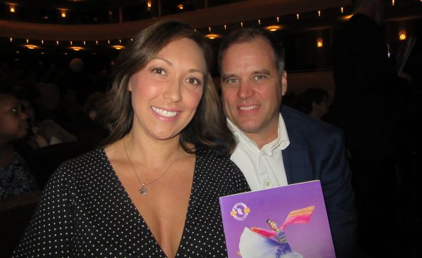 Bret Sypniewksi and Sharon Walters attend Shen Yun