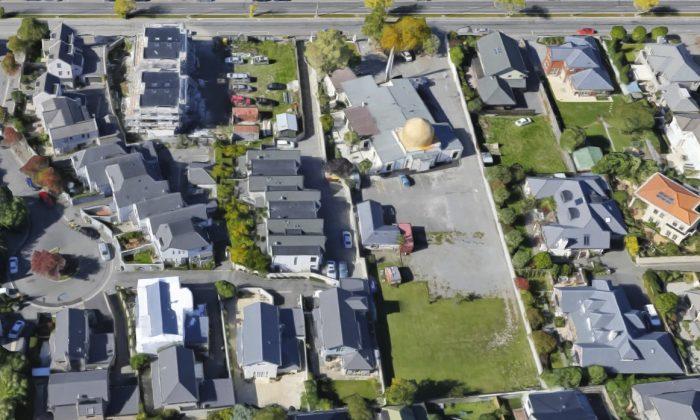 Masjid Al Noor mosque in Christchurch, New Zealand. (Screenshot/Googlemaps)