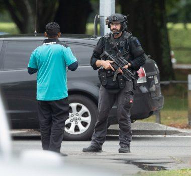 law enforcement confronts citizen