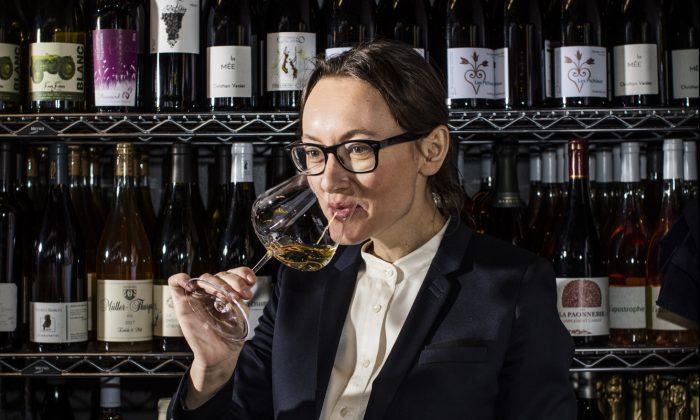 Master Sommelier Pascaline Lepeltier, an unofficial ambassador for natural wines. (Eric Medsker)