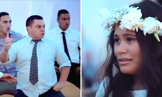 Bride Moved to Tears When Guests Stand and Perform Traditional Dance That She Didn't Plan