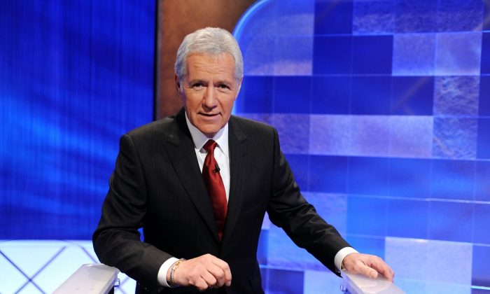Alex Trebek in a file photograph. (Amanda Edwards/Getty Images)