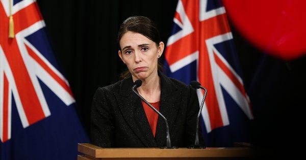 Prime Minister Jacinda Ardern speaks after mosque shooting