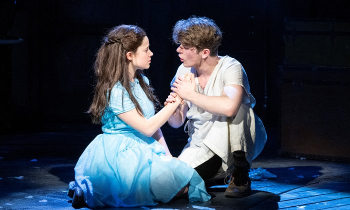 """Molly Gordon and Colton Ryan as the leads in """"Alice by Heart."""" (Deen van Meer)"""