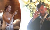 Bride Secretly Learns Sign Language for Wedding Date to Deliver Life Changing Message to Groom