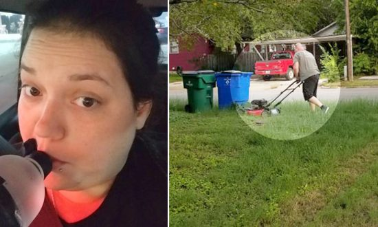 Daughter Snaps Photo of Dad Mowing Her Mom's Lawn: 'They've Been Divorced 28 Years'